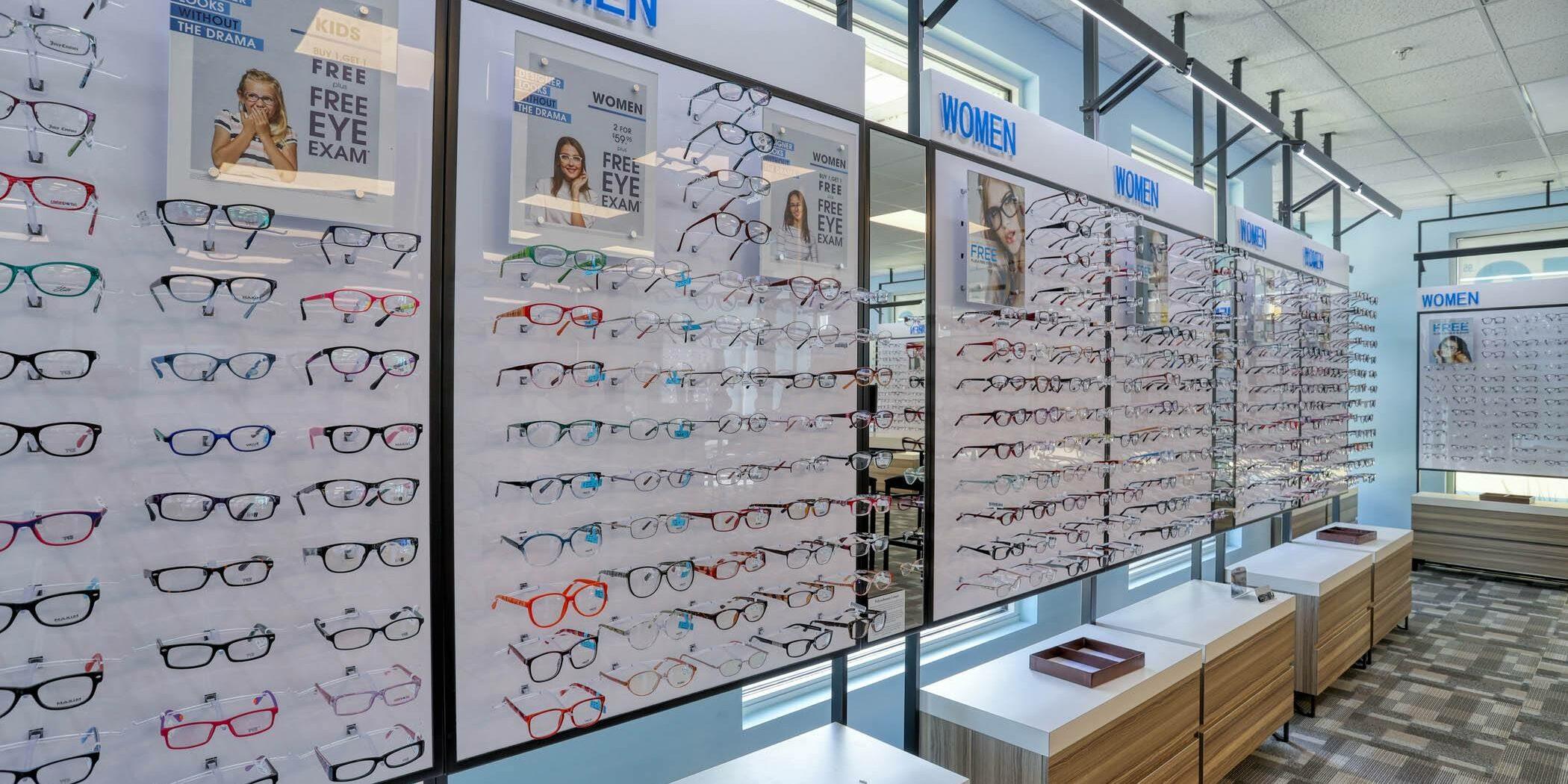 My Eyelab Franchise Store Interior